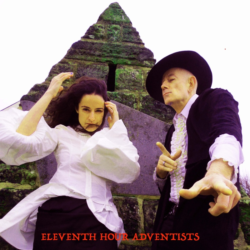 Cover image for the eponymous LP by Eleventh Hour Adventists featuring Jowe Head and Jasmine Pender